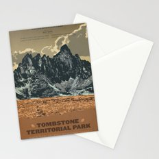 Tombstone Territorial Park Stationery Cards