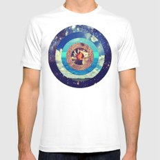 Sphere Of Dreams White Mens Fitted Tee SMALL