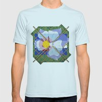 Altered State Flower: CO Mens Fitted Tee Light Blue SMALL