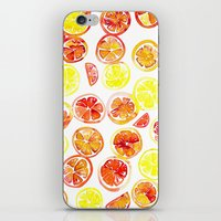 Orange Slice iPhone & iPod Skin