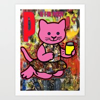 P is for... Art Print