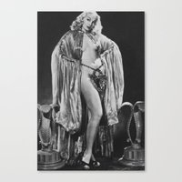 Iconic Images: Lili St. Cyr Canvas Print