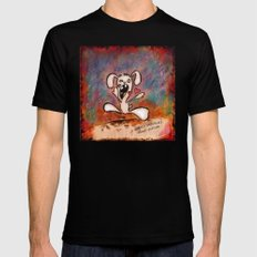 nom nom Black SMALL Mens Fitted Tee