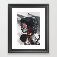 Map of Your Head Framed Art Print