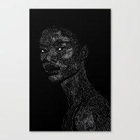 Black Girl #2 Canvas Print