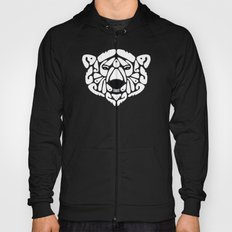 An Béar Bán (The White Bear) Hoody