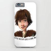 iPhone & iPod Case featuring A little Hiccup goes a long way by Fla'Fla'