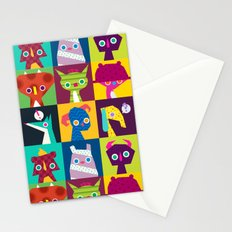 Thumbnail Monsters Stationery Cards