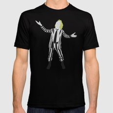 Beetlejuice  Mens Fitted Tee Black SMALL