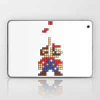 Super Mario Tetris Laptop & iPad Skin