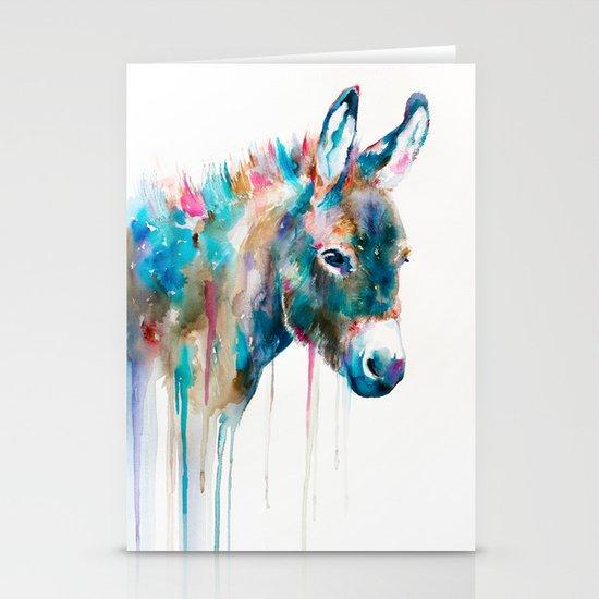 Donkey Stationery Card