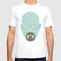 Walter White Said Mens Fitted Tee White SMALL
