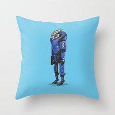 Mass Effect - Garrus Vakarian Throw Pillow