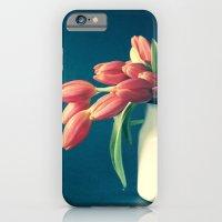 Thinking of You - Sending Tulips iPhone 6 Slim Case