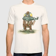 Cthulhu Mythos: Deep One Mens Fitted Tee SMALL Natural