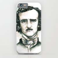 Edgar Allan Poe and Ravens iPhone 6 Slim Case