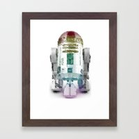 UNREAL PARTY 2012 R2D2 R2-D2 STAR WARS Framed Art Print