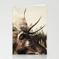 Tom Feiler Moose Stationery Cards