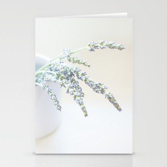 Lavender Stationery Card