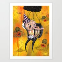 No Strings Attached Prin… Art Print