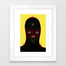 d u d e  Framed Art Print