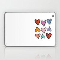 Hearts 2 Laptop & iPad Skin