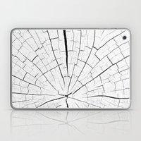 Woody white Laptop & iPad Skin