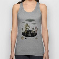 Shifting Tide Pool Unisex Tank Top