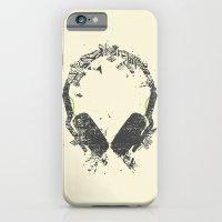 iPhone & iPod Case featuring Art Headphones V2 by Sitchko Igor