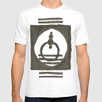 Parade Of The Planets Mens Fitted Tee White SMALL