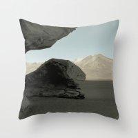 Stone Tree Throw Pillow