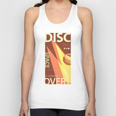 Vintage Space Poster Series II - Discover Space - It's a Blast! Unisex Tank Top