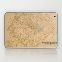 Civil War Washington D.C. Map Laptop & iPad Skin