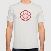 Suction Mens Fitted Tee Silver SMALL