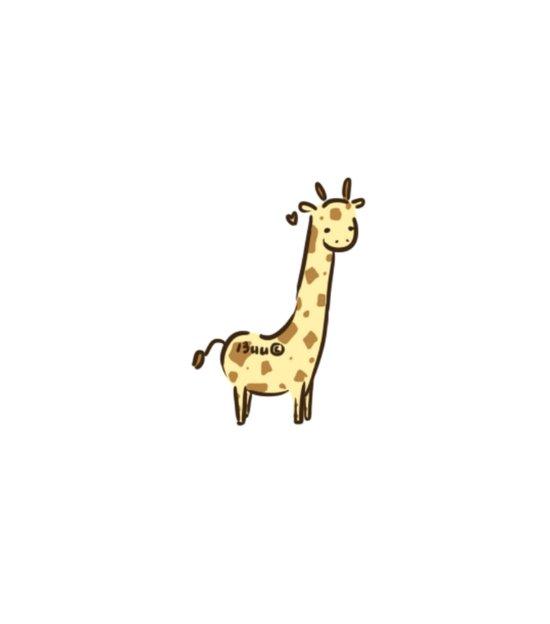 Girafffeee Art Print