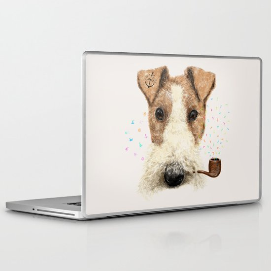 fox terrier sailor Laptop & iPad Skin