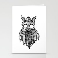 Viking Cat Stationery Cards