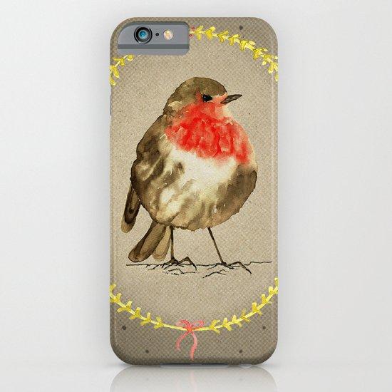 vintage winterbird iPhone & iPod Case