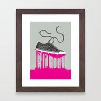 Weightless Living Framed Art Print