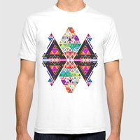 3AM Mens Fitted Tee White SMALL