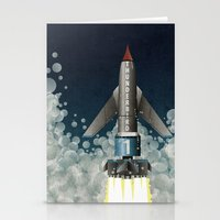 Thunderbird 1 Stationery Cards