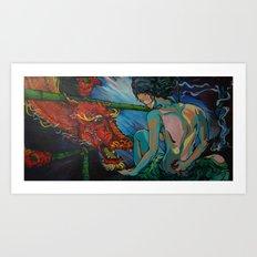 The Last Elder Art Print