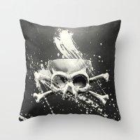 Hidden Lie Throw Pillow