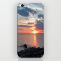 Sandy Hook Sunset iPhone & iPod Skin