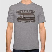 Rockatansky Fuel Haulage Mens Fitted Tee Athletic Grey SMALL