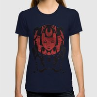 The Fortune Teller Womens Fitted Tee Navy SMALL