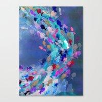 Lucid Lagoon  Canvas Print