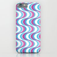 iPhone & iPod Case featuring Purple Waves by Miss Baker