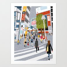 Kichijoji Art Print