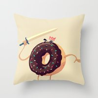 Baked To Rule Throw Pillow